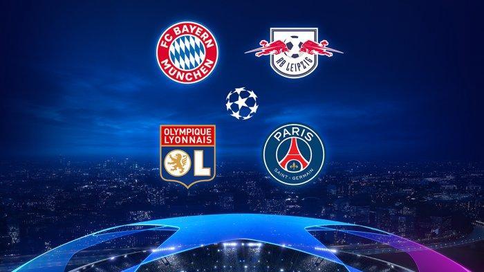 Hasil Lengkap Perempatfinal Liga Champions, Lyon Taklukkan City, Barcelona Kalah Memalukan