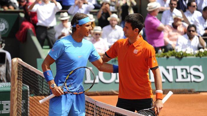 Hasil Prancis Open 2021, Novak Djokovic Hadapi Rafael Nadal di Semifinal Tunggal Putra