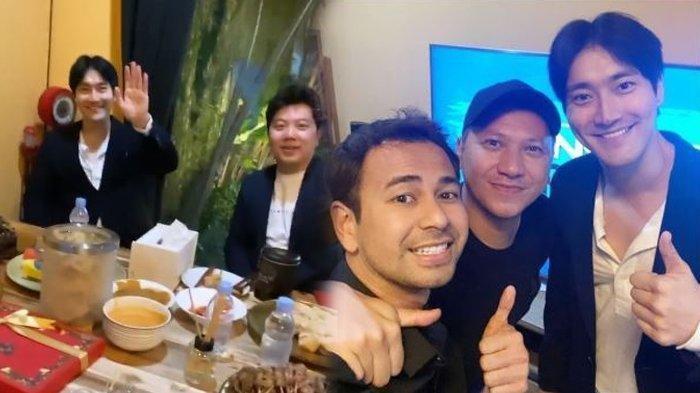 Raffi Ahmad Menjamu Siwon Bareng Gading Marten, Hidangkan Menu Makanan Khas Indonesia