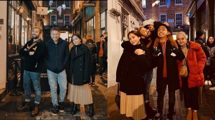Susul Raffi Ahmad dan Nagita Slavina, Gading Marten Rayakan Tahun Baru 2020 di London