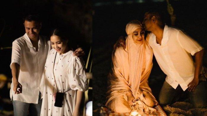 Raffi Ahmad dan Nagita Slavina liburan ke Labuan Bajo.