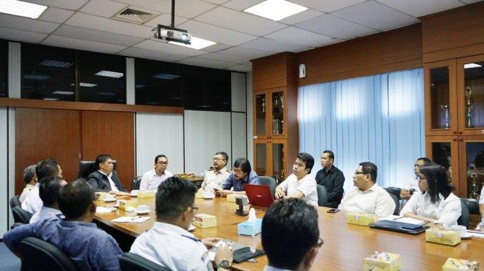 Antisipasi Virus Corona di Pelabuhan Batam, Direktur BUP Gelar Rapar Koordinasi