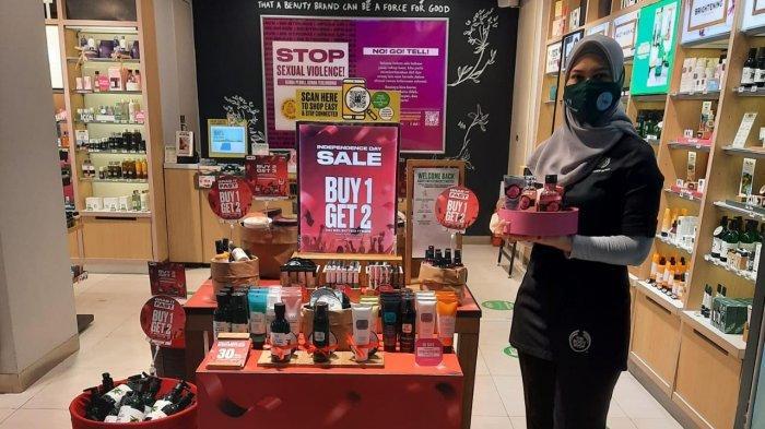 The Body Shop Berlimpah Promo di Bulan Agustus, Spesial Beli 1 Produk Dapat 2