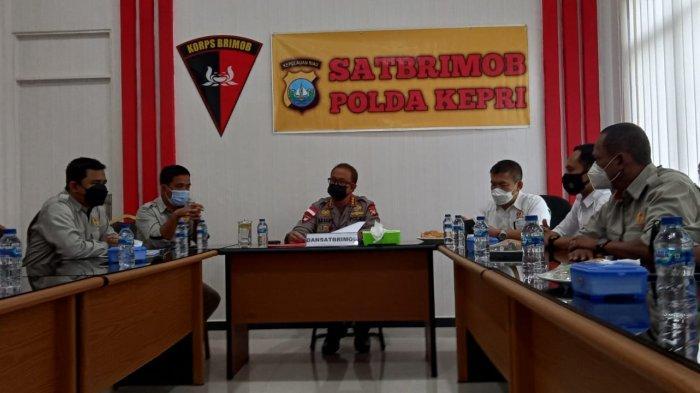 Jelang PON XX Papua, KONI Kepri Rapat Final dengan Polda Kepri Bahas Pengamanan Atlet