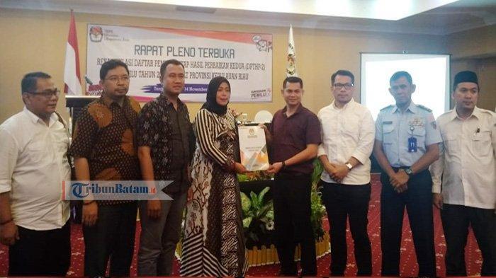 Teradu di DKPP, Komisioner Kota Batam Dipecat, Komisioner KPU Kepri Direhabilitasi