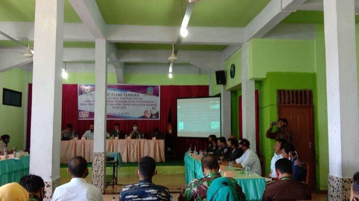 Pleno KPU, Sarivan-Arman Belum Penuhi Syarat Minimal Dukungan Calon Perseorangan Pilkada Anambas