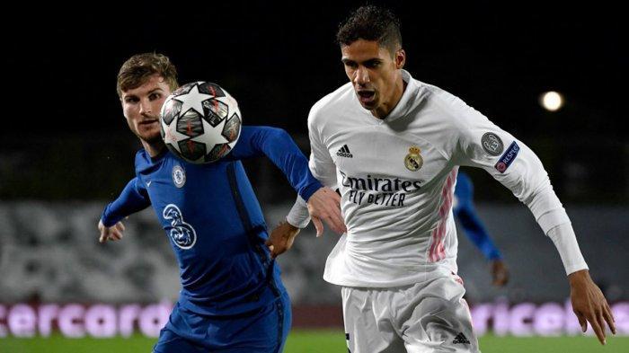 Chelsea vs Real Madrid Kick Off 02.00 WIB, Raphael Varane Absen, Zinedine Zidane: Sergio Ramos Main
