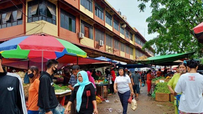 CATAT! Pasar Tos 3000 Batam Ditata Ulang hingga 3 Hari ke Depan, Pedagang Jalani Rapid Test
