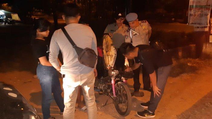 Ditegur Polisi Karena Keluyuran Hingga Larut Malam, Remaja di Batam Ini Berikan Respon Slow