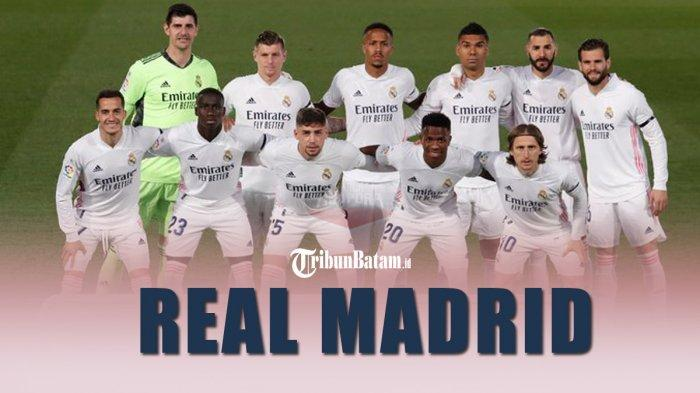 Real Madrid berpeluang juara LaLiga Spanyol dengan 8 laga sisa
