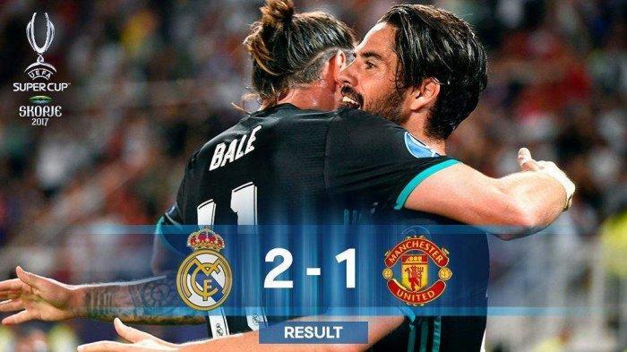 5 Fakta Menarik Saat Real Madrid Kalahkan Manchester United. Kenapa Sosok Ini Seperti Takut Bola?