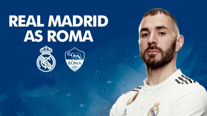 Link Live Streaming Real Madrid vs AS Roma. Babak I Sudah Dimulai. Madrid Sementara Unggul 2-0