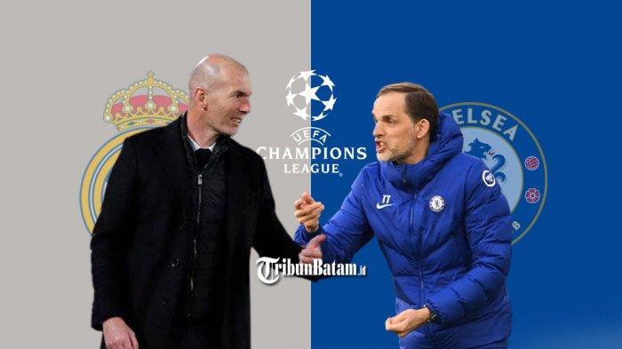 Real Madrid vs Chelsea Live SCTV 02.00 WIB, Zidane: Saya Tidak Percaya Dugaan Wasit Akan Curang