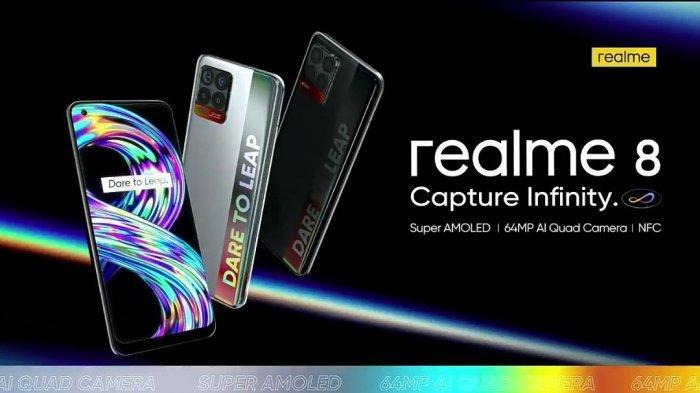 Harga Realme 8 Rp 3,59 Juta, Harga Realme 8 Pro Rp4,49 Juta, Hari Ini Sudah Bisa Dibeli