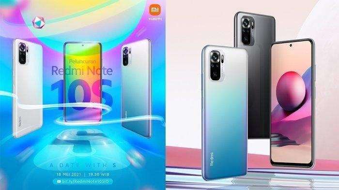 Bocoran Harga dan Spesifikasi Redmi Note 10S yang Meluncur 18 Mei di Indonesia