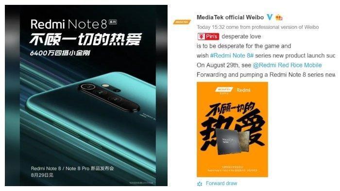 SAH, Redmi Note 8 Bakal Gunakan Chipset Gaming Helio G90T, Ini Konfirmasi MediaTek