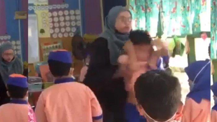 Murid TK Dilempar Oknum Guru, Korban Dicaci Maki dan Diusir Keluar Kelas