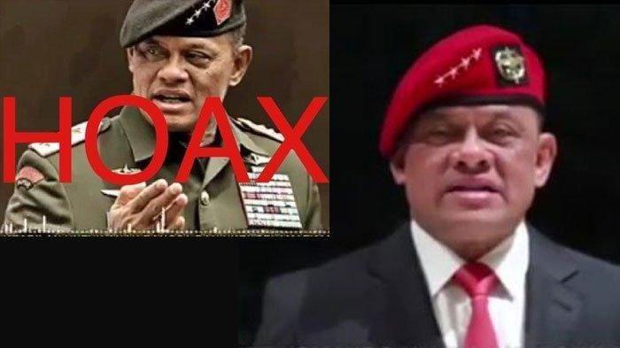 ViralRekaman SuaraMantan Panglima TNI, Ini BantahanGatot Nurmantyo dan Akui Hoaks