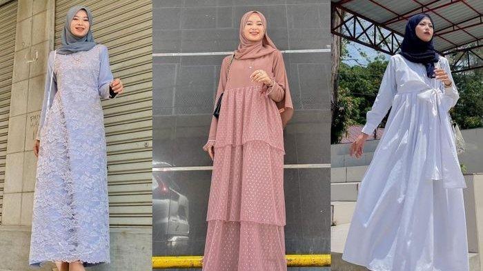 Tren Baju Lebaran 2021, Rekomendasi Dress Muslim untuk Shalat Idul Fitri ala Nadila Drn