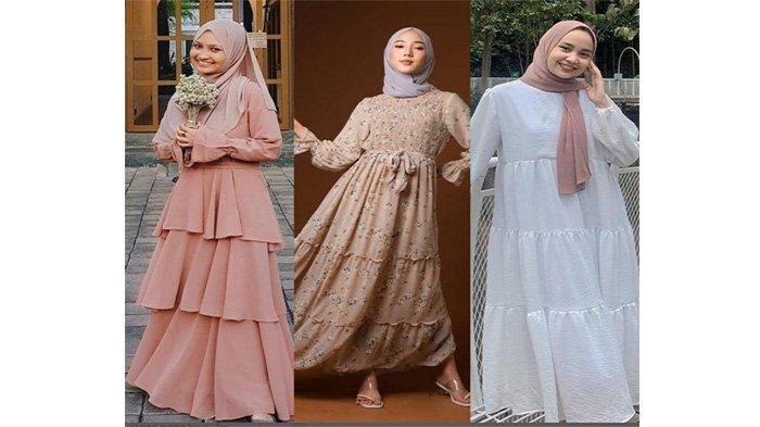 Tren Baju Lebaran 2021, Ada Dress 3 Layer hingga Motif Bunga, Tampil Anggun di Idul Fitri