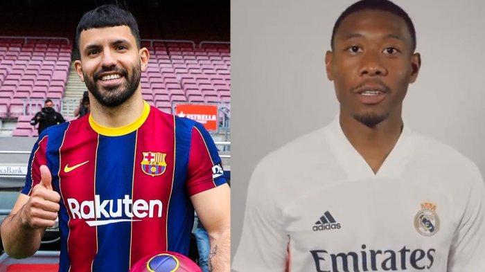 UPDATE Transfer Klub Liga Spanyol, Sergio Aguero ke Barcelona, David Alaba ke Real Madrid