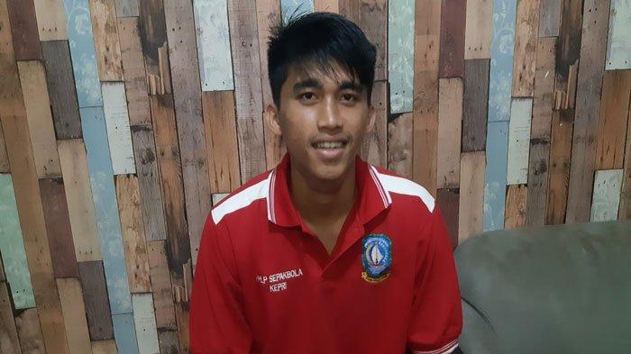 Remaja Batam Dipanggil PSSI Masuk Timnas U-18, Rafly Ramadhan Jaga Ketat Pola Makan