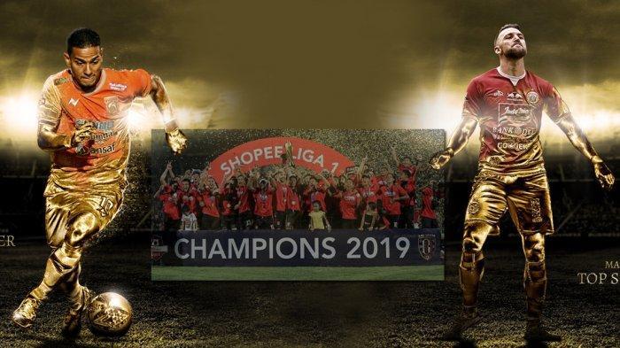 Klasemen Akhir Liga 1 Musim 2019, Bali United Juara, Renan Silva Terbaik, Marko Simic Top Skor