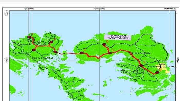 Rencana Besar Gubernur Kepri Hubungkan Batam Bintan Lewat Jalan Tol Selain Jembatan
