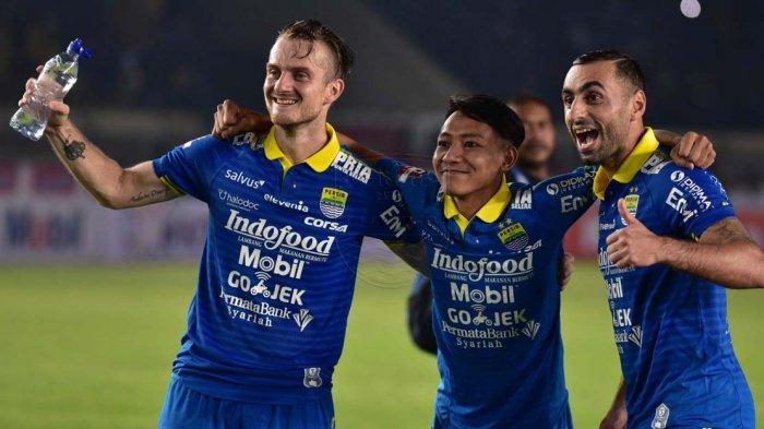 BERITA PERSIB - Artur Gevorkyan Tak Mau Pikirkan Target Gol; Yang Penting Persib Bandung Menang