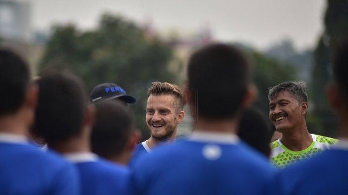 Rene Mihelic Tak Sabaran Ingin Debut Bersama Persib Bandung dan Rasakan Atmosfer di Stadion