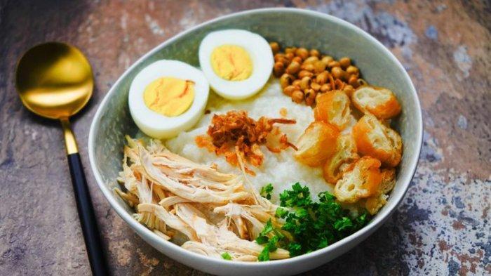 Resep Bubur Ayam Sederhana Tanpa Kuah, Pilihan Menu Sarapan saat Badan Tidak Fit