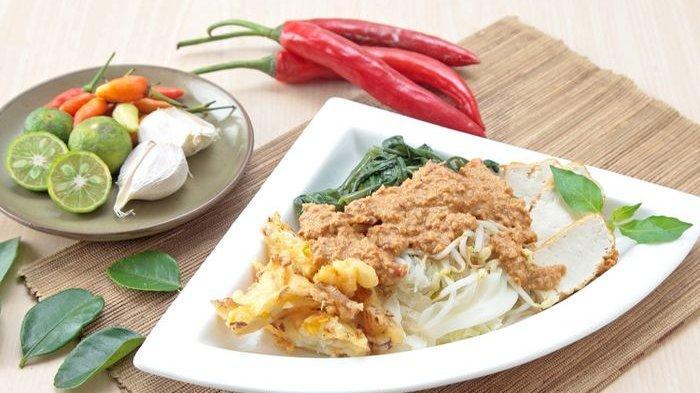 Resep Lotek Enak Menu Makanan Tradisional Yang Manis Pedas Gurih Cocok Disantap Bareng Keluarga Tribun Batam