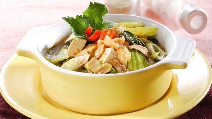 Resep Pokcoy Tumis Tahu Kuning, Hidang Gurih yang Lezat untuk Makan Malam Bareng Keluarga