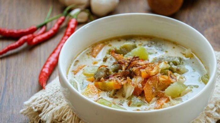 Resep Sayur Lodeh Bumbu Bakar untuk Menu Makan Malam, Aromanya Menggugah Selera
