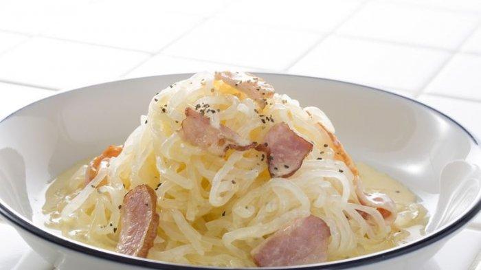 Resep Shirataki Carbonara, Mi Sehat untuk Diet, Santap saat Sarapan Pagi