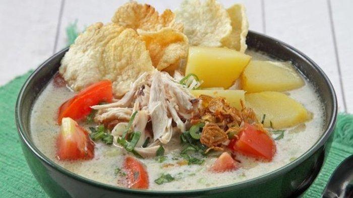 Resep Soto Ayam Santan Gurih dan Nikmat, Bikin untuk Menu Sarapan Besok Pagi