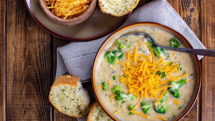 Resep Sup Brokoli Keju, Menu Sarapan Sehat yang Baik untuk Paru-parumu