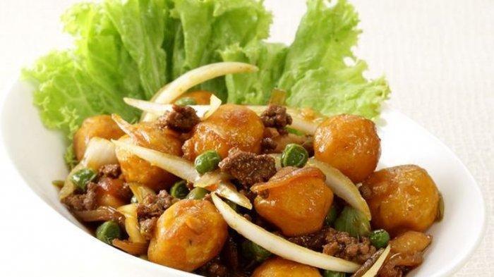 Resep Tumis Daging Cincang Kentang Mini, Hidangan Lezat Anti Ribet untuk Santap Sahur