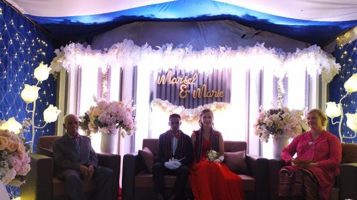 Pria Flores Nikahi Bule Perancis di Batam, Awal Desember Marsel dan Marie Pulang Kampung ke Adonara