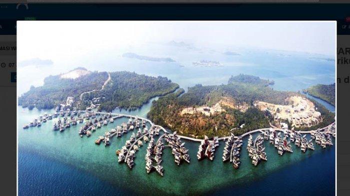 Resor Mewah di Batam Dilelang Online Rp 950 Miliar