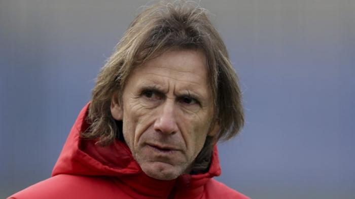 Soal Gol Kontroversial Pemainnya. Pelatih Peru Ricardo Gareca Enggan Komentar karena Tak Melihat