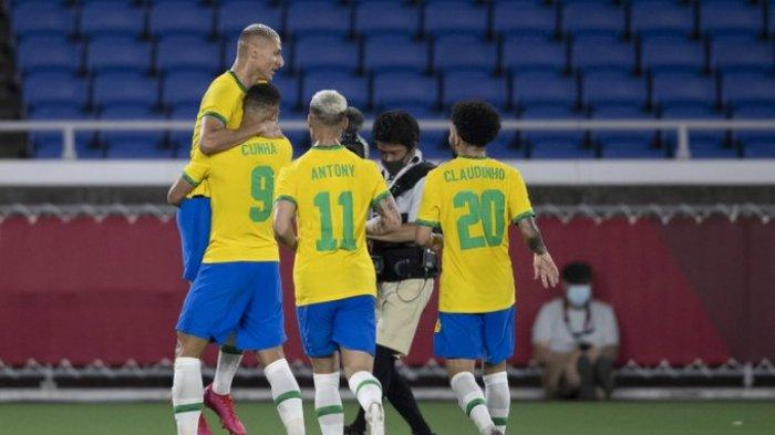 Jadwal Brasil vs Spanyol di Final Olimpiade Tokyo, Jepang vs Meksiko di Perebutan Juara Ketiga