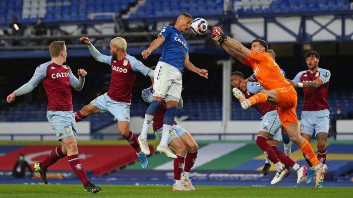 Hasil Everton vs Aston Villa, Gol Ollie Watkins dan El Ghazi Menangkan Aston Villa, Everton Kalah