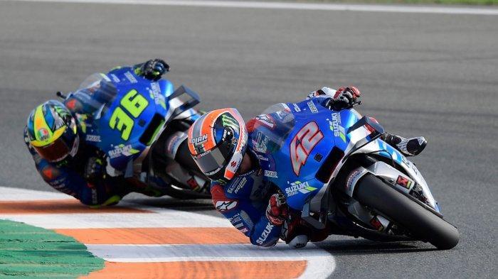 Jadwal MotoGP Valencia 2020 Besok FP1, Peluang Rider Suzuki Joan Mir Kunci Gelar Juara MotoGP 2020