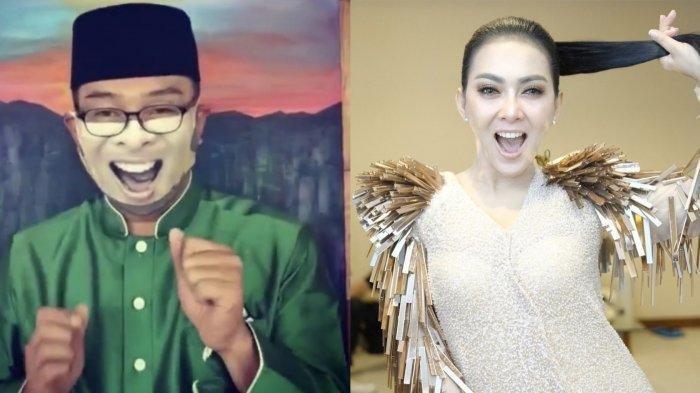 Ajak Warga untuk Tingkatkan Kreativitas, Ridwan Kamil Beri Contoh dengan Masker ala Syahrini
