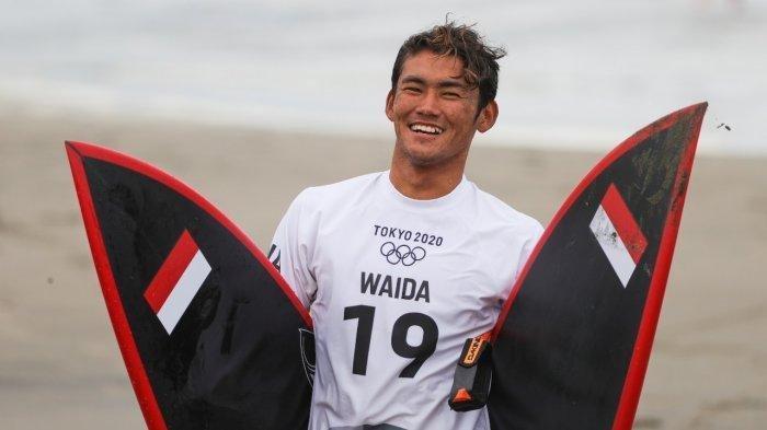 Rio Waida Minta Maaf, Gagal ke Perempat Final usai Kalah dari Peselancar Jepang
