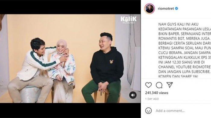 Lesti Kejora Pakai Jaket Rp 26 Juta di Youtube Rio Motret, Tunangan Billar Bikin Fans Insecure
