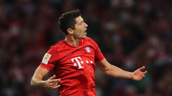 Penyerang Bayern Muenchen, Robert Lewandowski