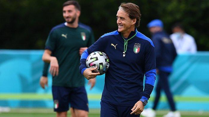 Italia vs Inggris Live RCTI 02.00 WIB, Mancini: Saya Tak Gelisah, Kami Akan Nikmati Laga 90 Menit