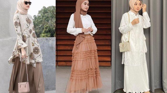 Elegan dan Anggun dengan Rok Hijab saat Lebaran, Intip Inspirasi Outfit ala Selebgram